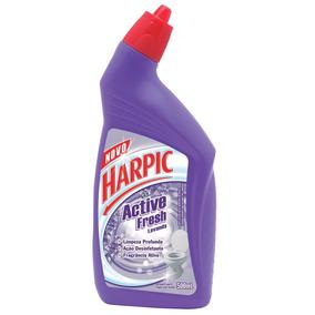 Desodorizador Sanit Harpic Active Fresh Líq Lavanda 500ml