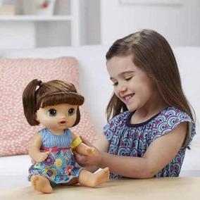 Baby Alive Doces Lágrimas Chora E Fala Morena Hasbro C0958