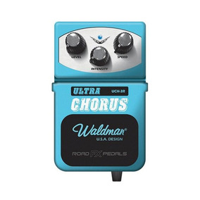 Pedal Waldman Ultra Chorus Para Guitarra Uch 3r