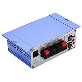 Amplificador D/potencia Hy 2001 Mini 2 Canales Hi-fi Estéreo