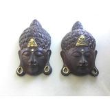Mascara De Buda Tallada En Madera