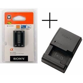 Bateria Sony Np-fw50 Original + Carregador Bc-vw1 Nex3 Nex-5
