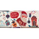 Listón De Santa Claus, Papá Noel, Navideño De 7.5cm X 1metro