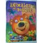 Libro Almohada De Tela Para Bebés Animales Del Bosque