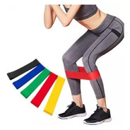 Kit 5 Bandas Elásticas Para Glúteos Yoga Pilates Gimnasio