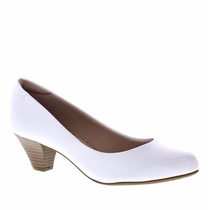 Sapato Branco Enfermagem Médica Dentista Saúde Modare