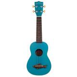 Kala Mk-ss-grn Makala Shark Soprano Ukulele Guitarra Blue