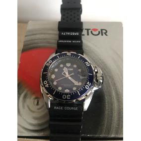 Reloj Sector Diver 200mts Swiss Carátula Bisel Azul Prototyp