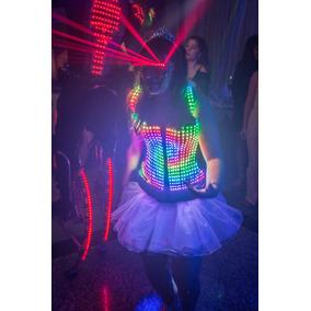 Alquiler Vestido Led Casamientos Fiestas De 15 Show Led
