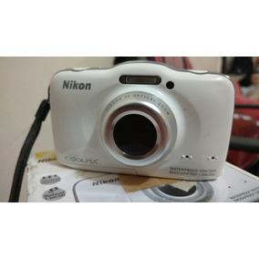 Maquina Fotografica A Prova Dagua Nikon S32