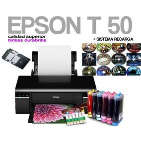 Impresora Epson T50 Con Sistema