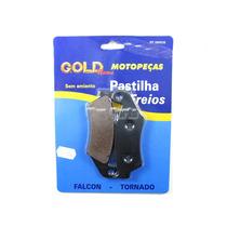 Pastilha De Freio Dianteira Gold - Tornado Falcon Xre 300