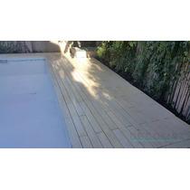 Deck Atérmico, Antideslizante 100 X 12 Cm- Bordes , Losetas