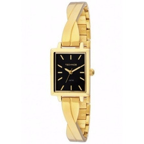 Relógio Technos Feminino Aço Dourado Mini 2035lzl/4p Wr 50m/