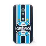Capa Capinha Para Celular Moto G2 Time Grêmio