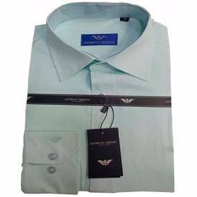 266d5107316 Camisa Armani Collezione - Camisa Social Manga Longa Masculinas no ...