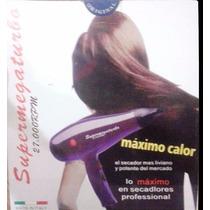 Secador Profesional Supermegaturbo De 27000 Rpm Original Ita