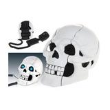 Telefone Em Formato De Caveira De Cranio Branco Diferente