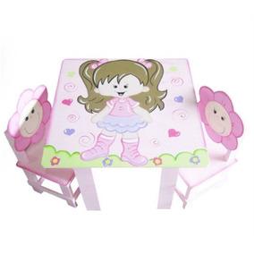 Mesa Infantil De Menina Personalizada