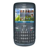 Nokia C3-00 Novo Na Cx Original Desbloq Anatel Wi-fi Rádio