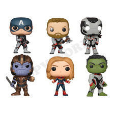 Funko Pop Avengers End Game Thanos Capitan America Hulk Thor