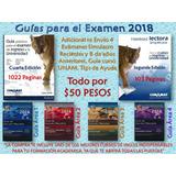 Guia Conamat Universidad 2018+4 Guias+ingles+hab.lect+examen