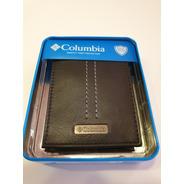 Billetera Columbia Original Con Protección De Tarjetas Rfid