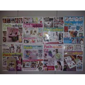 Revista Patchwork Kit De 8 Revistas Patch Aplique