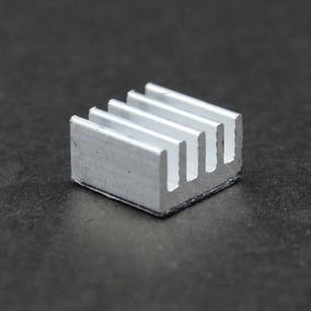 Dissipador Calor Alumínio Chipset A4988 08mm X 08mm X 05mm