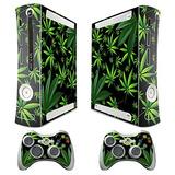 Xbox 360 Consola De Malas Hierbas Diseño Decal Skin - Ampli