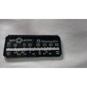 Dial Escala Radio Motoradio 8 Transistor Antigo C