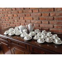 Juego De Té Y Café Porcelana Verbano 9 A 10 Pers 45 Piezas