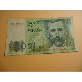 Billete De España 1000 Pesetas De 1979