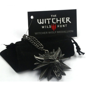 Medalhão The Witcher 3 Original