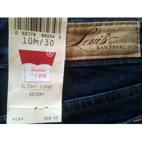 Blue Jeans Levis Demi Curve San Francisco Original 100%