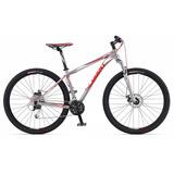 Bicicleta Giant Revel 29er 1 Prata/branca/vermelha Tamanho M