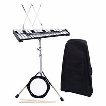 Marimba Portatil Compacta Musica Con Almohadilla De Práctica