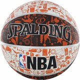 Balon De Basket Spalding Graffiti Numero 7