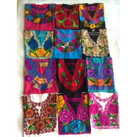8 Blusas Bordadas De Chiapas