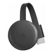 Google Chromecast 3rd Generation Full Hd Carvão Com Memóri