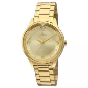 Relógio Allora Feminino Dourado - Al2035fko/4x