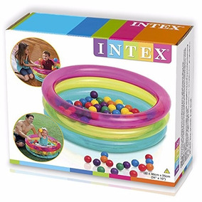 Pelotero Inflable Intex
