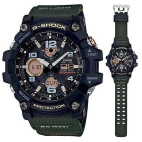 bfd870315a0 Casio G Shock Aw 591ms 1a Verde Fosco Masculino - Relógios De Pulso ...