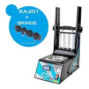 Máquina Teste Limpeza De Injetores Gdi Ka201 + Flauta Brinde