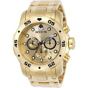 Invicta Hombre 0074 Pro Driver Reloj Chapado En Oro