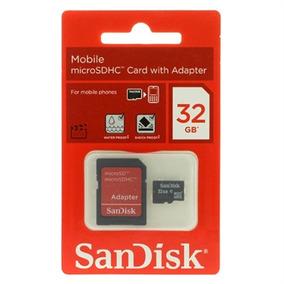 Cartão De Memória Sandisk 32gb Para Lg L4 Ii E470