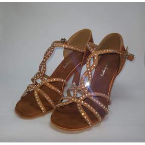 Zapatos De Baile Salsa.bachata.ballroom.competición Exportac