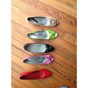 Zapatos De Vestir Liquido Verde Beige Y Rosa