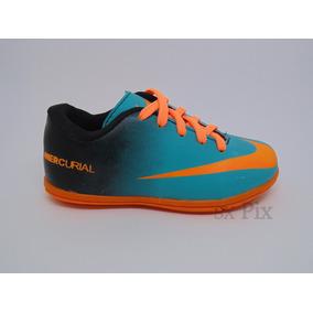 Chuteira Nike Mercurial Infantil Futsal - Criança Futebol