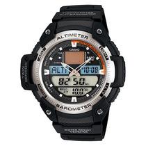 Relógio Casio Sgw-400h 1b Altimetro Barometro Original